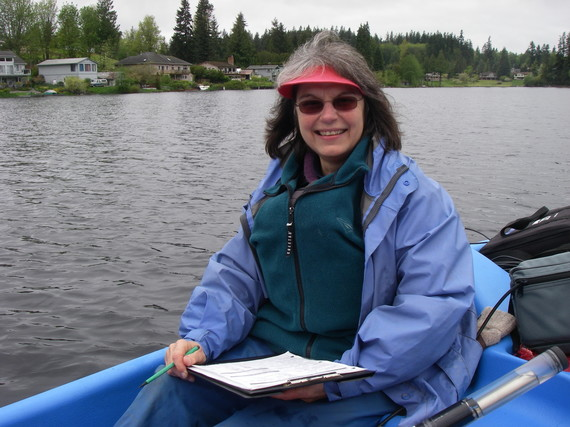 Lake Monitoring Volunteer_Nancy Dean