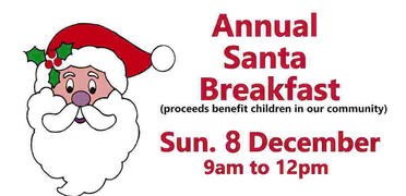 2019 Mountlake Terrace Breakfast with Santa Flier