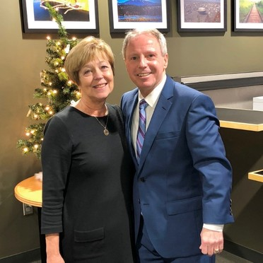 Photo of Chair Ryan with Carolyn Weikel