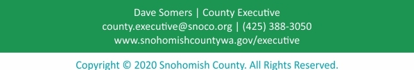 County Executive Newsletter Footer