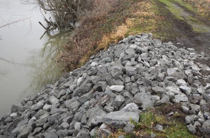 Ebey Slough Levee After Repair