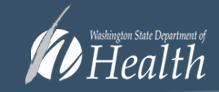 logo for the Washington State Department of Health