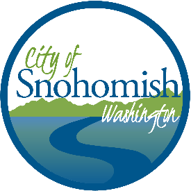 Official City of Snohomish logo