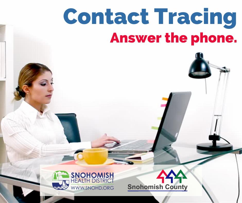 Contact tracing video screenshot