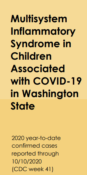 Multisystem Inflammatory Syndrome in Children graphic