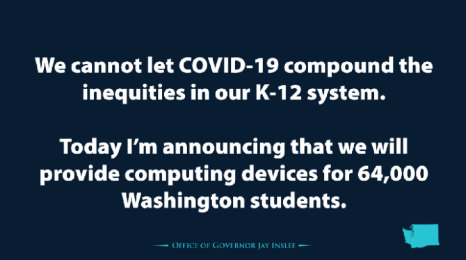 Text of Governor comment on technology grant