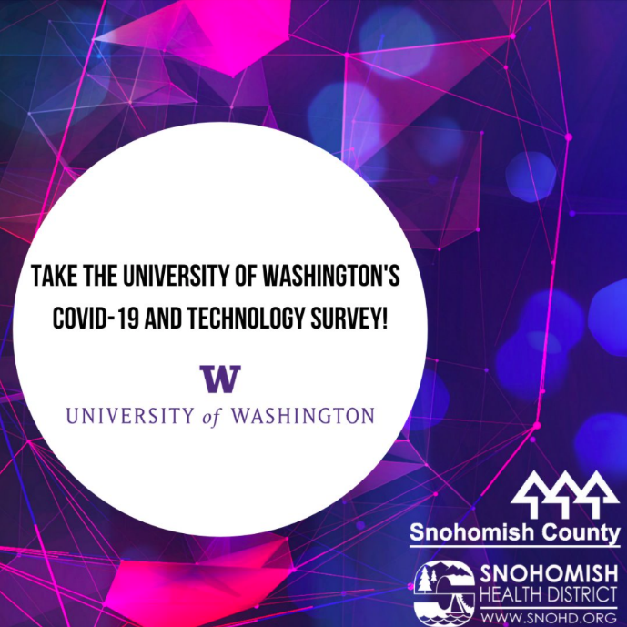 UW survey on COVID-19 and bluetooth technology