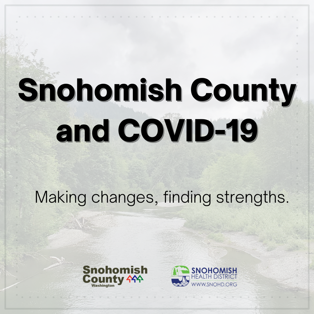 screenshot of social media video on SnoCo response to COVID published 11-6-2020