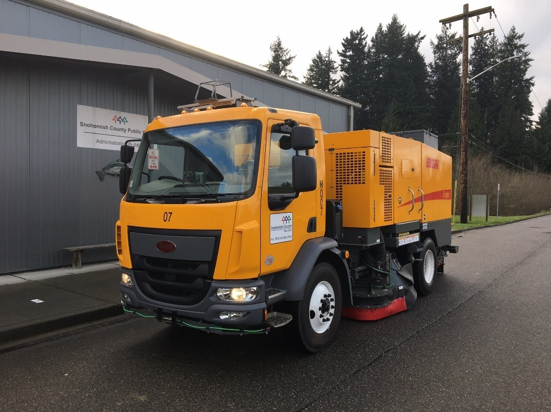 Snohomish County Invests in New High Efficiency Street Sweepers