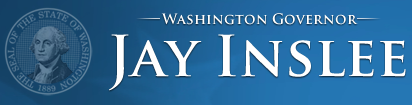 official logo of Gov. Jay Inslee