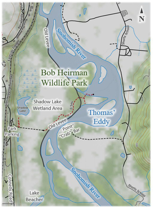 Thomas' Eddy at Bob Heirman Wildlife Park