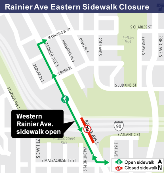 Rainier Ave Closure