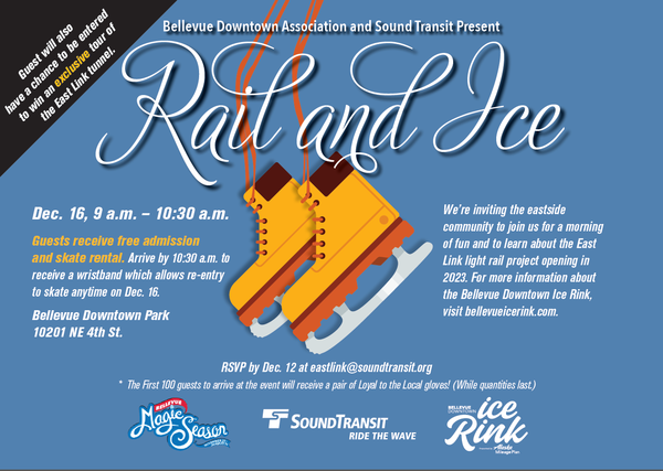 Rail and Ice event flyer for 2018.