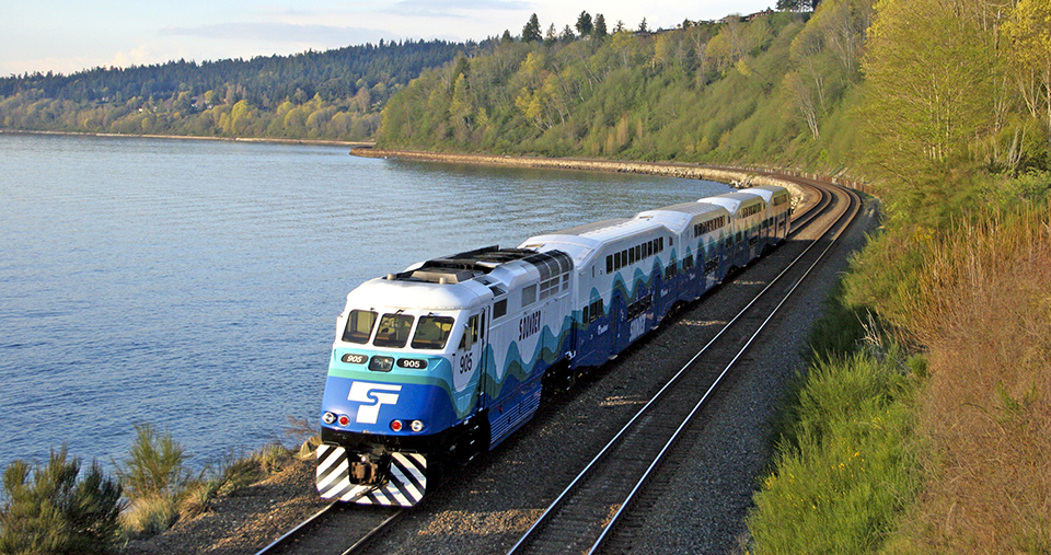 Edmonds and Mulkilteo project update Sounder Train hero image