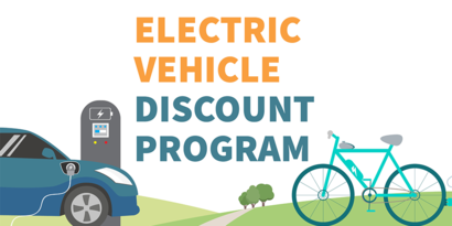 Electric Vehicle Discount Logo