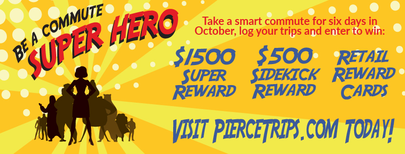 Log your smart trips on PierceTrips.com and enter to win BIG!