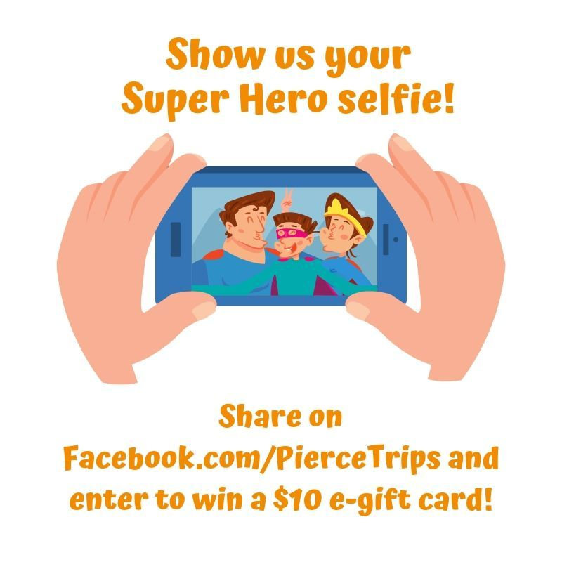 Share your smart commute photo on Pierce Trips' Facebook page