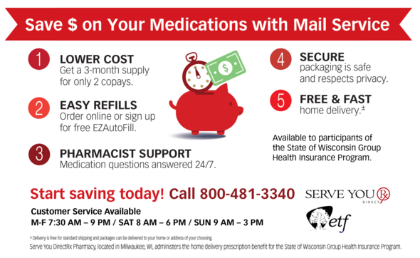 Save Money on Your Medications with Mail Service