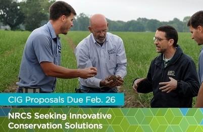 USDA Conservation Innovation Grants