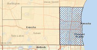 Kenosha County Ozone Nonattainment Area