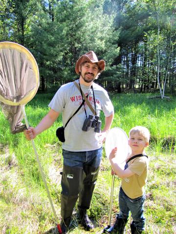 Ryan Chrouser and his son