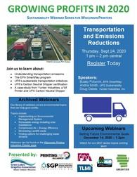 Transportation Emissions Webinar Sept 2020
