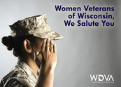 Women Veteran Salute