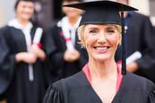 Woman Grad for WI GI Bill