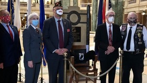 POW MIA Chair of Honor Unveiling