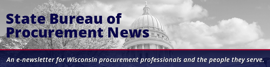 State of Wisconsin Bureau of Procurement