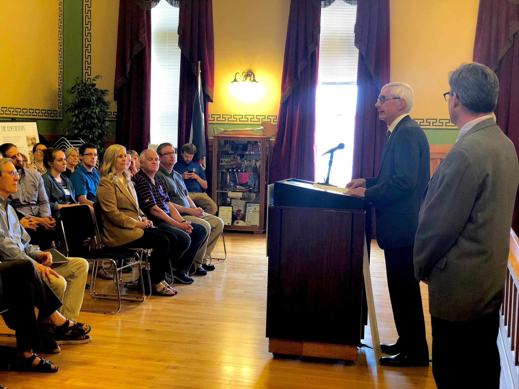 Gov. Evers makes coastal grant announcement