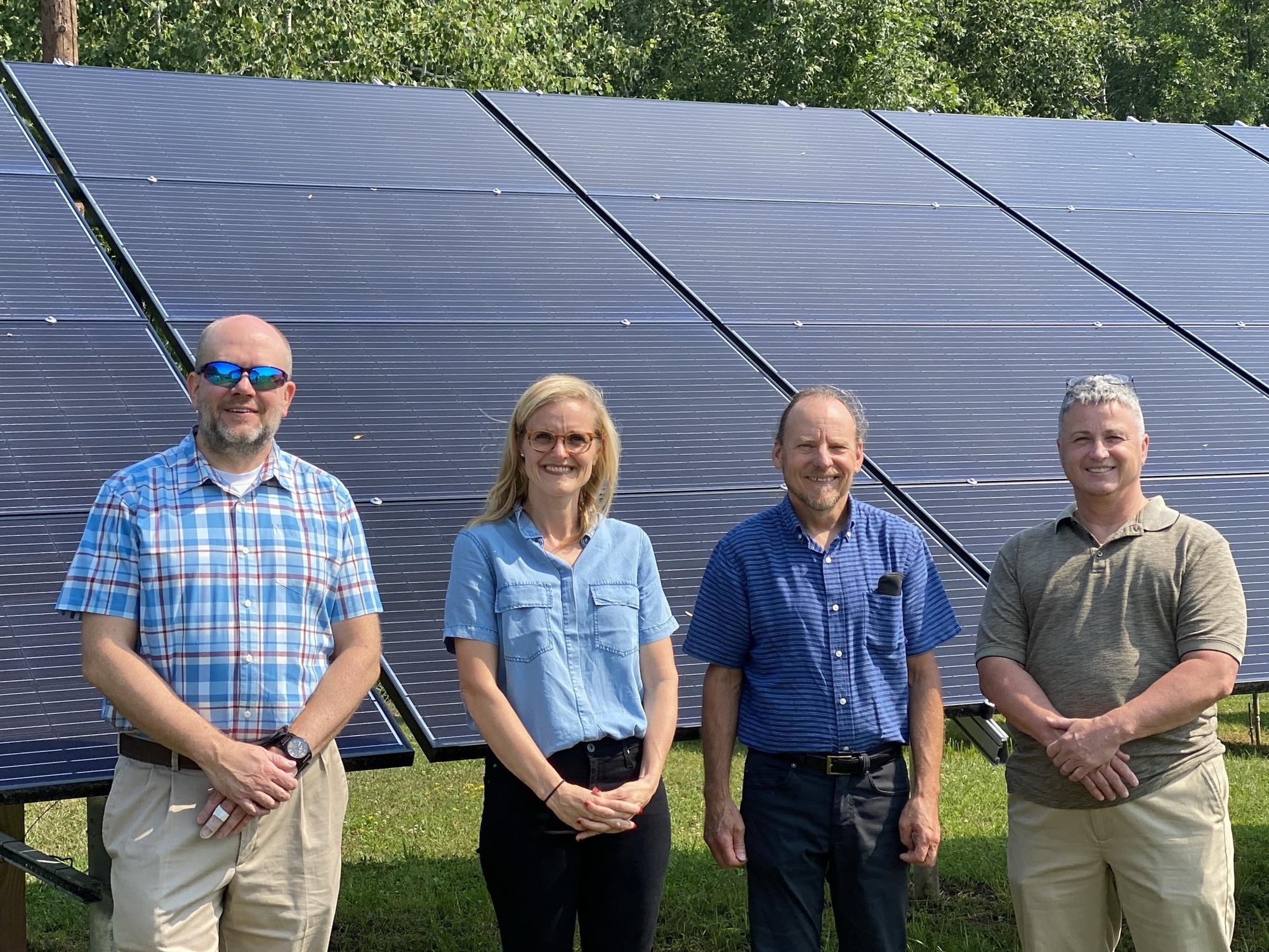 Washburn Solar Array Site Visit
