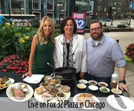 Live on Fox 32