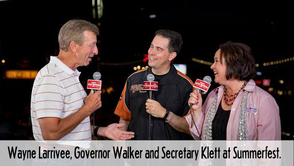 Larrivee and Gov Walker