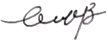 Mary Monroe Brown Signature