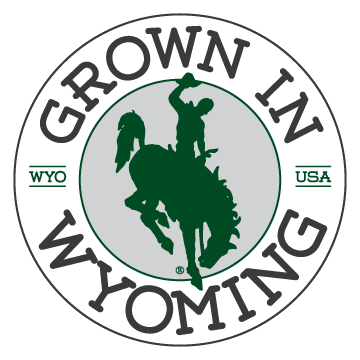 Grown in Wyoming Logo
