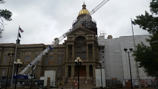 CAPITOL UNDER RENOVATION