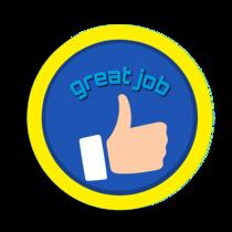 great job thumbs up