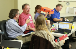 science teachers at workshop