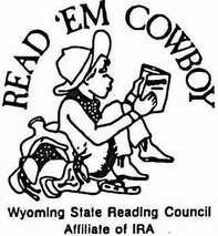 Cowboy Reading a Book logo