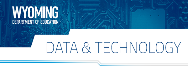 Data and Technology Banner