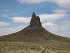 Boar's Tusk formation in southwest Wyoming