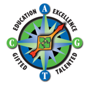 Logo for Colorado Gifted and Talented Program which includes the words education, excellence, gifted and talented