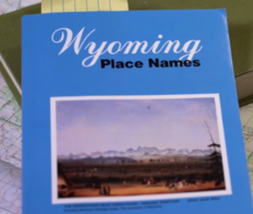 Book titled Wyoming Place Names