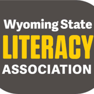 Logo with words Wyoming State Literacy Association
