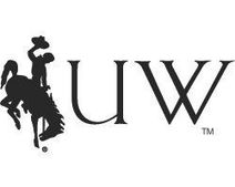 University of Wyoming bucking bronc logo