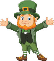 Cartoon image of leprechaun