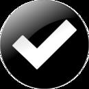 white check mark