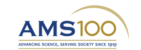 Logo reading AMS