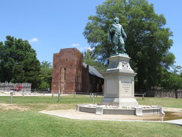 Statue of Captain James Smith at Historic Jamestown
